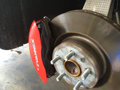 MGP red caliper covers