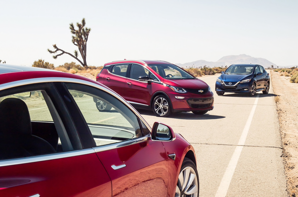 The new generation of EVs: Model 3, Bolt and LEAF compared ...