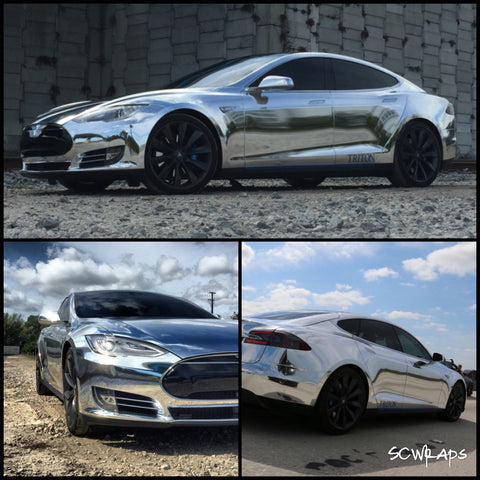 How Vinyl Wrap Can Protect and Enhance Your Tesla | EVANNEX
