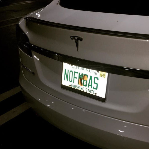 Check Out These Clever, Personalized Tesla License Plates