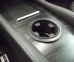 Tesla Model S Accent-I custom cci greywood interior dash trim appliqué kit