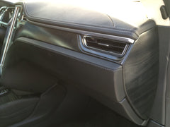 Tesla Model S Accent-I greywood interior dash trim appliqué kit