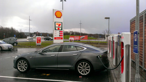 Charging your Tesla at a Shell gas station? Here's what to