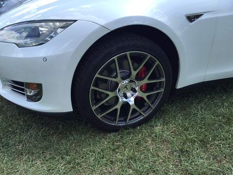 tesla model s aftermarket ts117 wheels