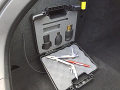 Tesla Model S adaptable storage and lighting kit aslk