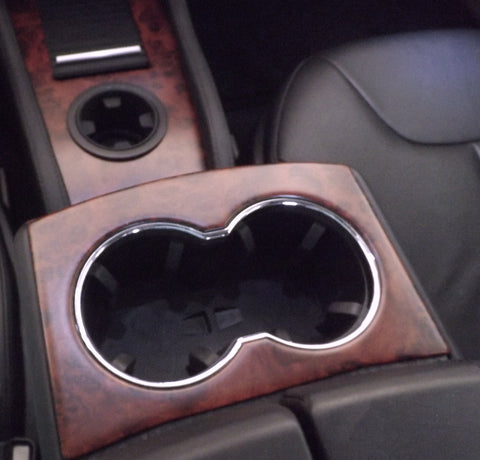 Tesla Model S Accent-I redwood burl interior dash trim appluqé kit
