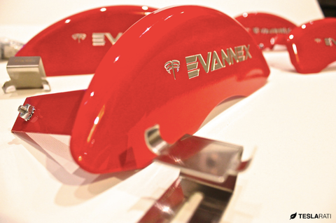 red MGP caliper covers