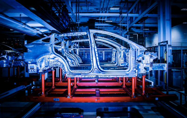 An Inside Look At The Tesla Fremont Factory Production