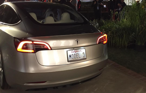 Model 3 Spy Shots And Undercover Video Filmed Behind The