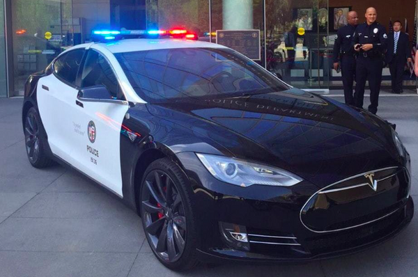 Why The Tesla Model 3 Could Be The Police Car Of The