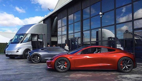 New Tesla Roadster >> The New Tesla Roadster Just Shut Down The World S Baddest