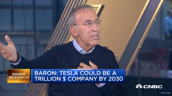 Let's Take A Look At Ron Baron's Tesla Forecast