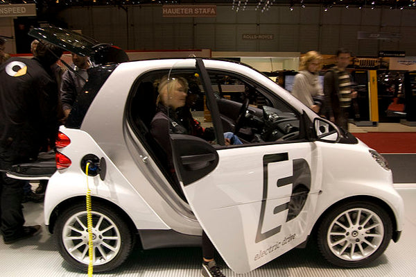 Smart Electric Drive EV at the 2009 Geneva Motor Show