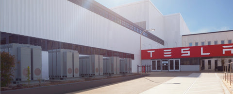 teslas commercial battery storage solution