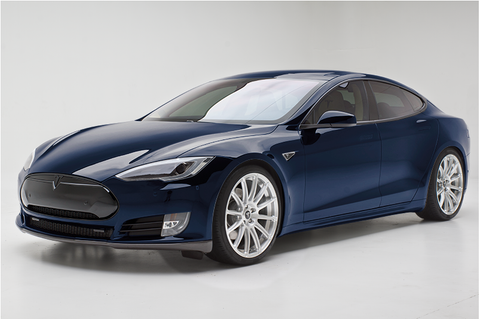 Tesla Model S TS112 forged 21 inch aftermarket wheels brushed satin
