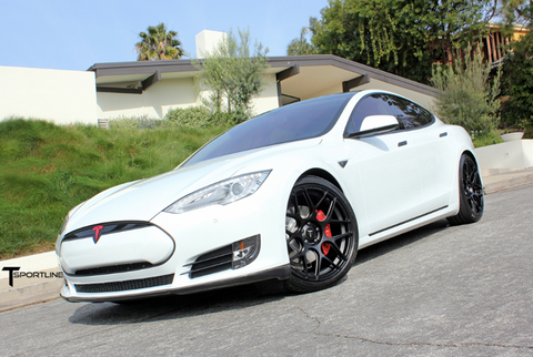 Tesla Model S TS117 forged 21 inch aftermarket wheels