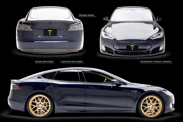 Tesla Model S Carbon Fiber Sports Package