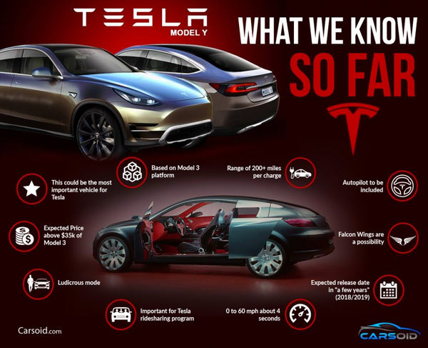 Infographic: What to expect from Tesla's Model Y | EVANNEX