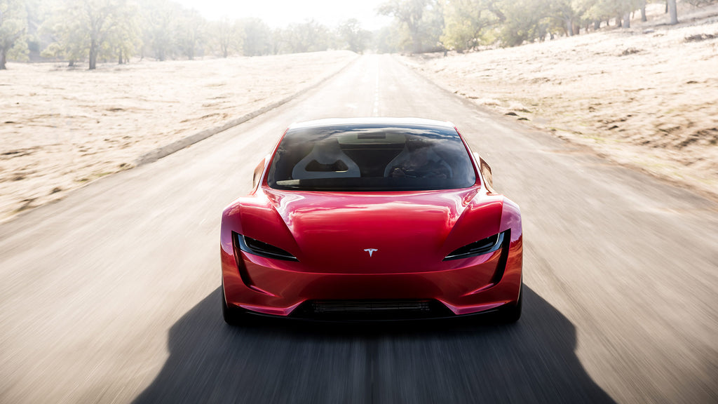 Tesla Roadster - Front View