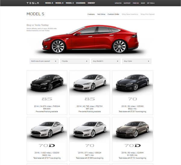 Tesla Certified Pre Owned >> Finding The Best Deal On A Tesla Model S Evannex