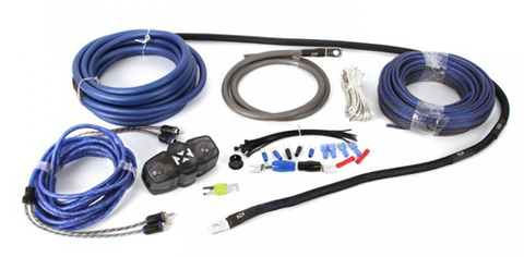 NVX boost series bass package solid wiring connections