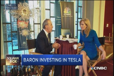Ron Baron tesla motors a company built to last