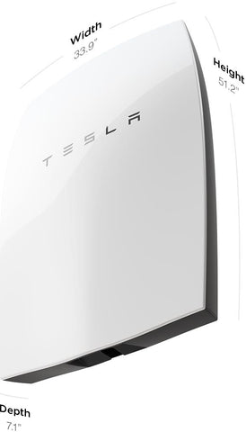 tesla model s home battery