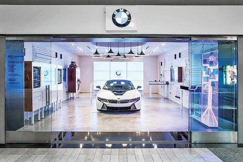 BMW mall  strategy similar to tesla's