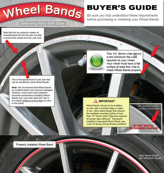 Tesl Model S wheel bands buyers guide