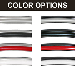 Tesl Model S wheel band color options