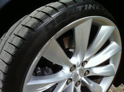 tesla model s curb rash wheel bands
