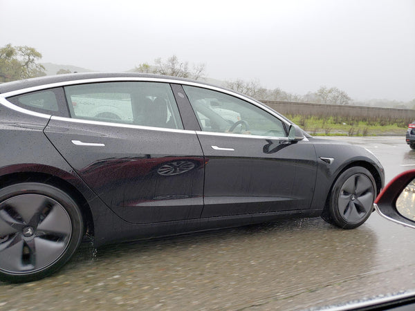 First Right-Hand-Drive Tesla Model 3 Spotted