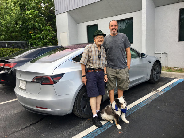 An 83-year old just drove across the country in his Tesla ...
