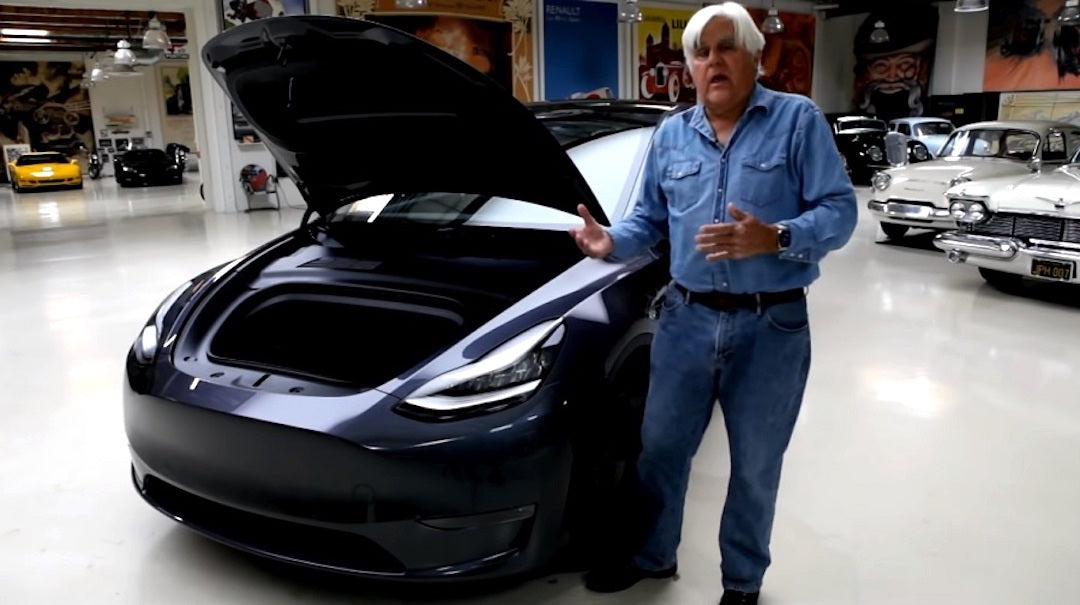 Why Jay Leno Sees Tesla As Current & Indefinite EV Leader | CleanTechnica