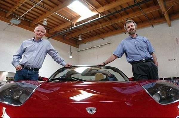Tesla Founders Marc Tarpenning and Martin Eberhard