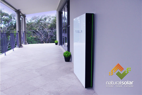 Tesla Powerwall + High Electricity Prices Driving Australians To Energy Storage - CleanTechnica Tesla Powerwall + High Electricity Prices Driving Australians To Energy Storage - CleanTechnica natural solar tesla property lifestyle shot sharp angle australia with logo 2000pix  grande