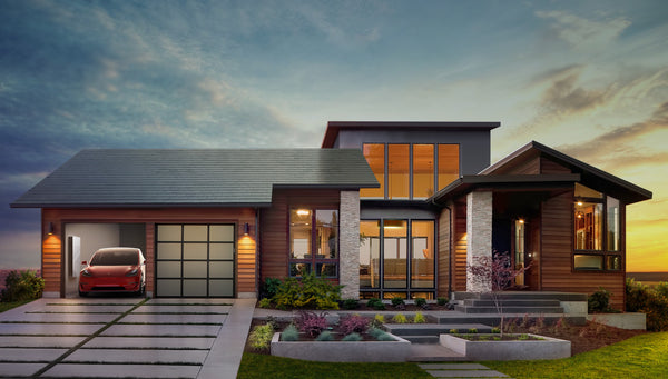 Tesla Model 3 and Solar roof
