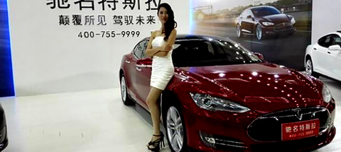tesla model s growth in china