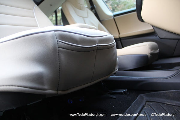 These Seat Covers Designed For The Model S And Offered Through EVANNEX Do More Than Just Protect Original Seats They Actually Enhance Them In A Number