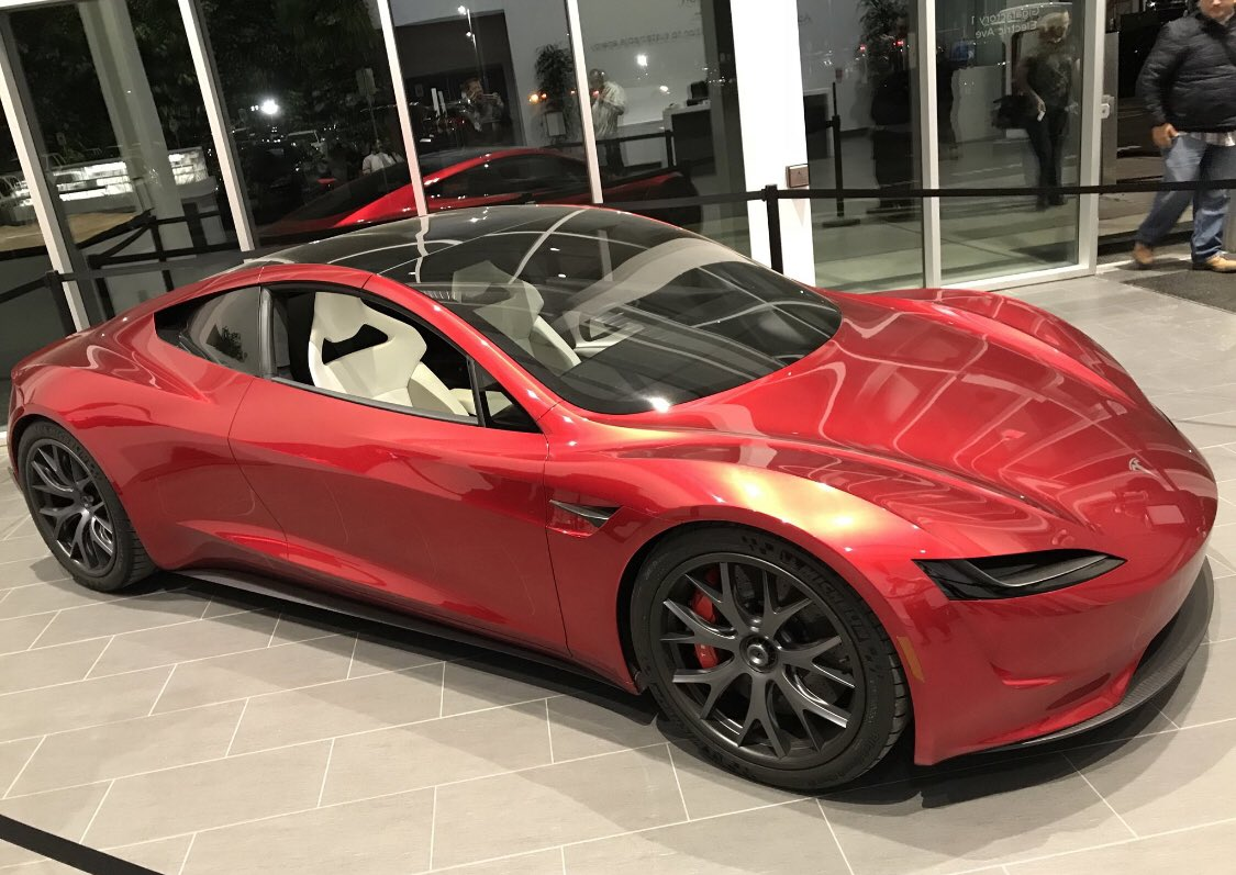 The Tesla Roadster Is Becoming An Object Of Fantasy For Cgi Artists