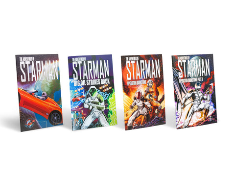 The Adventures of Starman – Limited Edition Comic Books