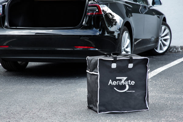 AeroTote (TM)—Storage Bag for Tesla Model 3 Aero Wheel Covers