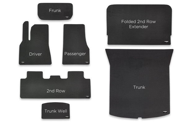 EVANNEX All-Weather Floor Mats for Tesla Model Y