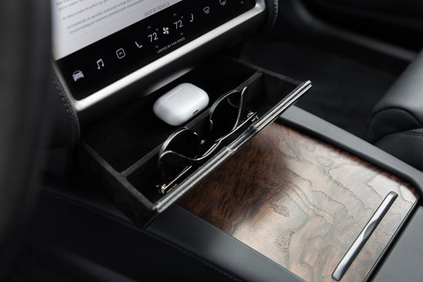 Cubby Compartment for Tesla Model S and Model X