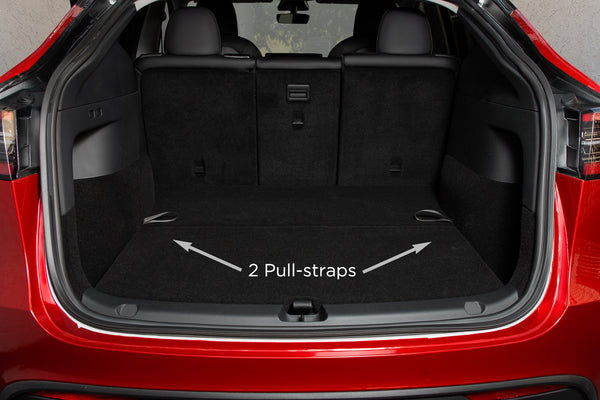 Hidden Storage Space Pull-Strap for Tesla Model Y