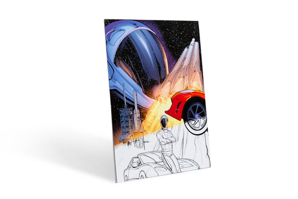 The Adventures of Starman – Coloring Book