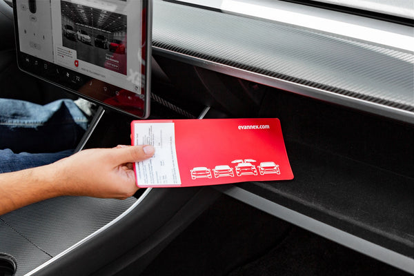 Registration and Insurance Card Holder for Tesla Owners