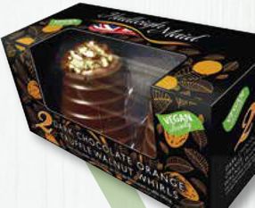 Truffle Whirl Dark Chocolate Orange
