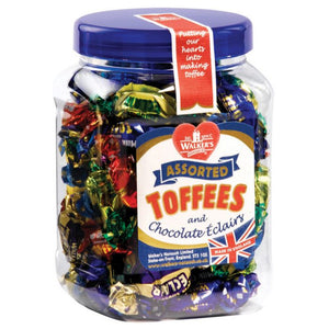 Walkers Assorted Toffees Jar