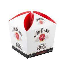 Jim Beam Whiskey Fudge Carton